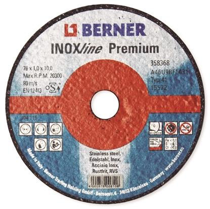 Bilde av Kappeskive Inox 76x1x10 Premium