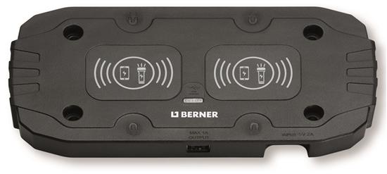 5 port USB mobil ladestasjon med lys – Ladepluggen